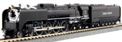 KATO N Scale Union Pacific FEF-3 #844 Steam Locomotive w/ Pre-installed ESU Loksound Sound DCC