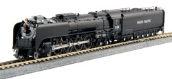 KATO N #126-0402 Union Pacific 4-8-4 FEF-3 #838 - Freight version