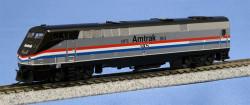 "Kato N Scale Ready to Run DCC Ready, GE P42 ""Genesis"" Diesel Locomotive, Amtrak 40th Anniversary Phase III #145"