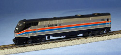Kato N Scale Ready to Run DCC Ready, Diesel GE P42 Genesis, DCC Ready, Amtrak 40th Anniversary Phase II #66