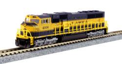 Kato N 176-6408 DCC Ready EMD SD70MAC Alaska Railroad ARR #4006