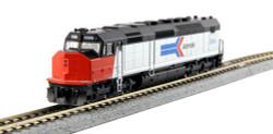 Kato N, DCC Ready, EMD SDP40F Type I, Amtrak #504, Phase I Paint