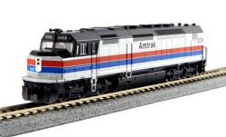 Kato N, DCC Ready, EMD SDP40F Type I, Amtrak #529, Phase II Paint