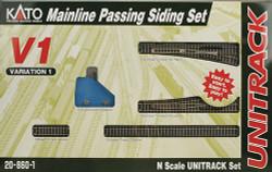 Kato Unitrack N Scale V1 Mainline Passing Siding Set