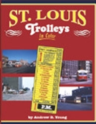 Morning Sun Books, St. Louis Trolleys In Color