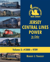 Morning Sun Books, Jersey Central Lines Power In Color Volume 2: #2000-9709