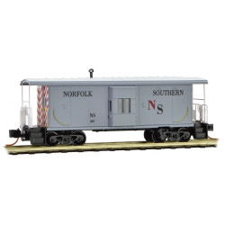 Micro Trains 130 00 240 31' Bay Window Caboose Norfolk Southern #387