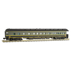 Micro Trains Line 142 00 150 3-2 Heavyweight Observation Car Canadian National CN #89