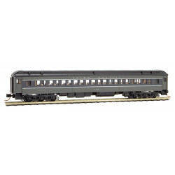 Micro Trains Line 145 00 190 78' Heavyweight Paired-Window Coach Car Union Pacific UP # 4302