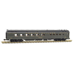 Micro Trains Line 146 00 020 80' Heavyweight Diner Car Great Northern - Indiana