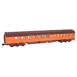 Micro Trains Line 146 00 120 Heavyweight Diner Car Milwaukee Road - Dan Healey