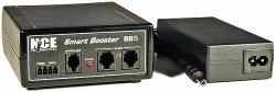 NCE 5240027 SB5 DCC Smart Booster Includes Power Supply, 5 Amps of Power (for Power Cabs only), 524-27
