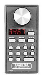 NCE DCC Cab06r Intermediate Throttle Radio Wireless w/Encoder Speed Control