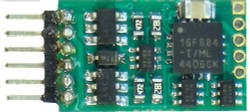 NCE DCC 5240160 N12NEM N Scale Mobile Decoder