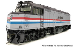 Rapido Trains Inc HO 83002 EMD F40PH Amtrak Phase III #206 DC version