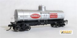 Tangent Scale Models HO, 19060-04, HOX Humble Petroleum Products 1935+ General American 1917-design 10000 Gal. Tank Car #491
