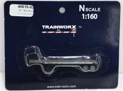 Trainworx N, 40616-02, 40' Flatbed Trailer, Soo Line SOO#300842