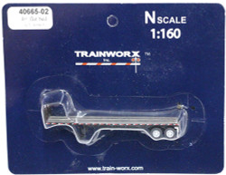 Trainworx N, 40665-02, 40' Flatbed Trailer,  Atlantic Coast Line ACL#309465