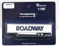 Trainworx N, 45384-01,  53' Trailer w/skirting,  Roadway #559130