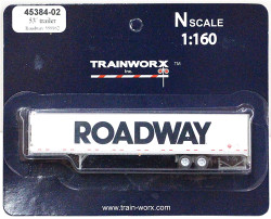 Trainworx N, 45384-02  53' Trailer,  Roadway #559162
