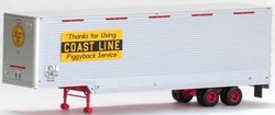 Trainworx HO 80353-02 40' Drop Frame Van Trailer, Atlantic Coast Line ACL #204046
