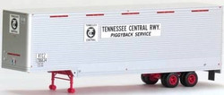 Trainworx HO 80366-03 40' Drop Frame Van Trailer, Tennessee Central TC #206637