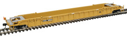WalthersMainline 53' 3-Unit NSC Stand-Alone Well Car, RTR, TTX #620641 (yellow, black)