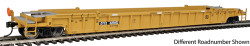 WalthersMainline 53' 3-Unit NSC Stand-Alone Well Car, RTR, TTX #620655 (yellow, black)