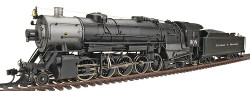 Walthers Proto 2000 Heritage Series Steam Collection USRA Heavy 2-10-2 Standard DC, Colorado & Southern #908 (Southern Valve Gear)
