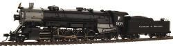 Walthers Proto 2000 Heritage Series Steam Collection USRA Heavy 2-10-2 Standard DC, Colorado & Southern #909 (Southern Valve Gear)