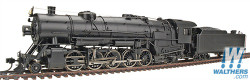 Walthers Proto 2000 Heritage Series Steam Collection USRA Heavy 2-10-2 Standard DC, Painted, Unlettered (black)