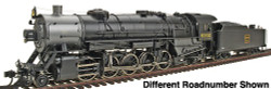 Walthers Proto 2000 Heritage Series Steam Collection USRA Heavy 2-10-2 Standard DC, Chicago, Burlington & Quincy #6303 (Southern Valve Gear)