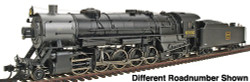 Walthers Proto 2000 Heritage Series Steam Collection USRA Heavy 2-10-2 Standard DC, Chicago, Burlington & Quincy #6308 (Southern Valve Gear)