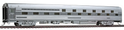 Walthers HO Scale RTR Budd Slumbercoach 24-8 Sleeper, Chicago, Rock Island  & Pacific (Plated Finish)