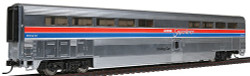 Walthers Revised Streamlined Superliner(R) l Diner w/Plated Finish, Amtrak(R) Phase ll