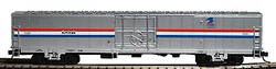Walthers RTR Material Handling Car (MHC), Amtrak Phase III Paint Scheme