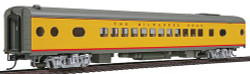 """Walthers HO Scale Ready to Run Milwaukee Road, UP City Scheme, 52-Seat Coach """"535 Series"""" (Notched Side Sills, 8' Nystrom Trucks w/Clasp Brakes)"""