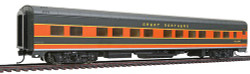 Walthers HO Scale RTR Pullman-Standard 85' 12 Double Bedroom Sleeper Passenger Car, Great Northern