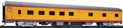 Walthers HO Scale Union Pacific Heritage Series Budd 10-6 Sleeper, Willie James #202 (Amour Yellow, Gray)