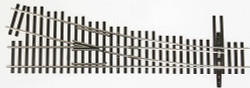 Walthers Shinohara HO Scale Track Code 83 Nickel Silver Turnouts, DCC Friendly, #4 Right Hand Turnout