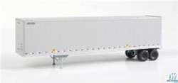 Walthers Scene Master WAL9492212 HO Scale Ready to Run 45' Stoughton Trailer 2-Pack Assembled United Parcel Service UPSZ (gray)