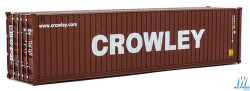 Walthers SceneMaster HO Scale 40' Hi-Cube Corrugated-Side Container Crowley