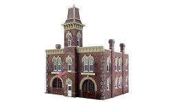 Woodland Scenics WOOBR4934 N Built Up Firehouse