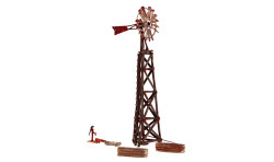 Woodland Scenics BR4936 N Built & Ready Old Windmill