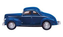 Woodland Scenics N, JP5618, Just Plug Vehicles, Blue Coupe
