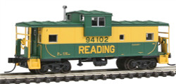 Atlas N Extended Vision Caboose, Reading #94106 No Roofwalk (green, yellow)