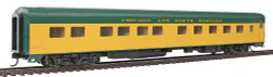Walthers HO Scale RTR Pullman-Standard 10-6  Sleeper Passenger Car, Chicago North Western(TM)
