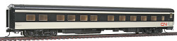 Walthers HO Scale RTR Pullman-Standard 10-6  Sleeper Passenger Car, Canadian National