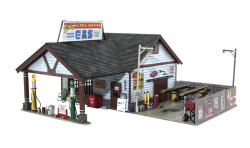 Woodland Scenics BR4935 N Built & Ready Ethyl's Gas & Service
