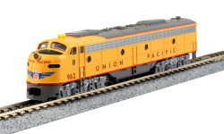 Kato N 176-5318-DCC EMD E9A Union Pacific with Nose Herald #962 TCS DCC Equipped